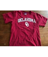 Champion Oklahoma University Sooners T Shirt Mens Size Large - $12.34