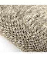 Natural/Silver Hand-Dyed Effect 40ct Linen 17x1... - $13.05