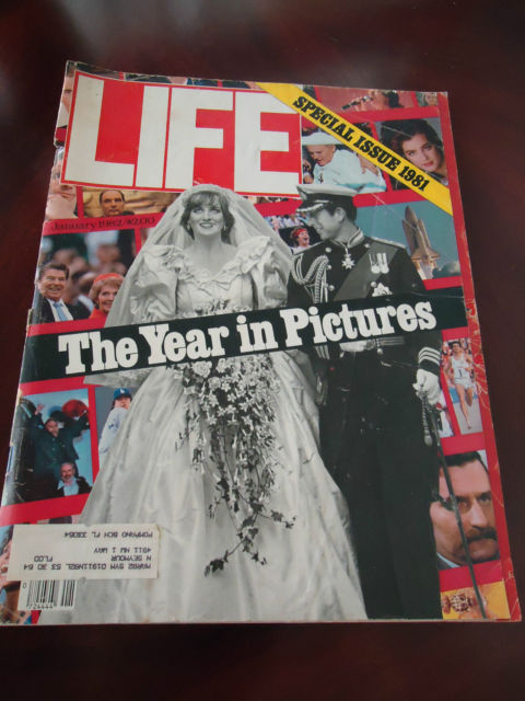 1982 LIFE January Special ISSUE COVER  Diana /Prince Charles