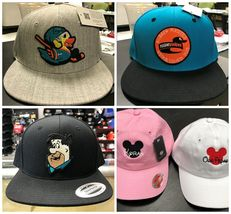 Custom Embroidered Personalized Yupoong Flat Bill Snapback Cap Hat 6089M image 9