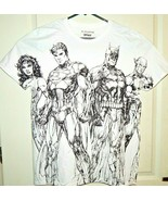 DC Collection Men's Jim Lee Collection T-Shirt Pencil Art Sizes Availabl... - $13.27