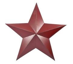 Large Red Barn Star Wall Decor - Amish Barn Star - $25.83