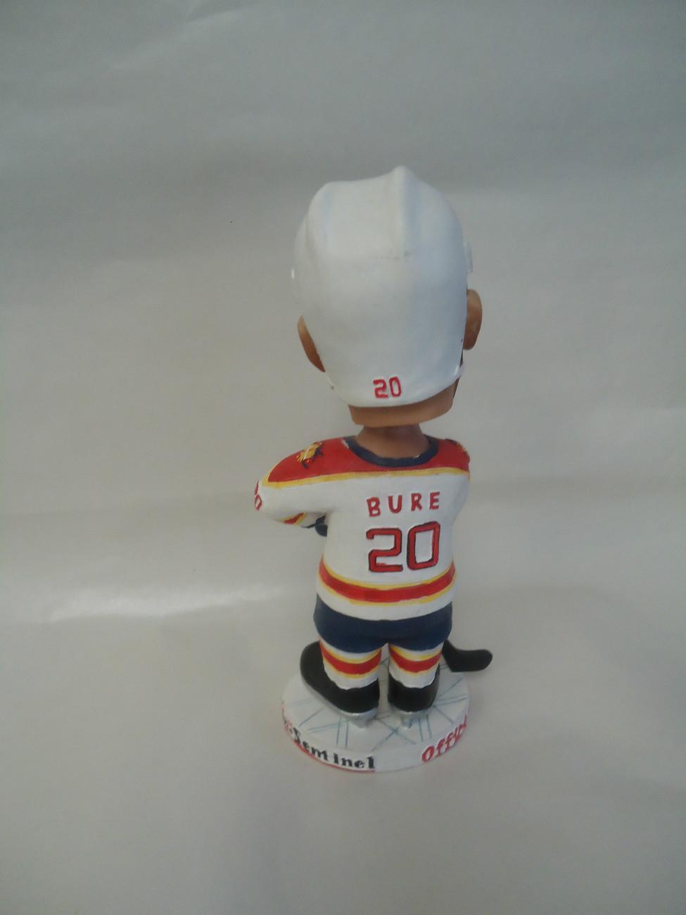 #20 Valeri Bure Florida Panthers Bobblehead NHL Hockey Collectible Sun-Sentinel