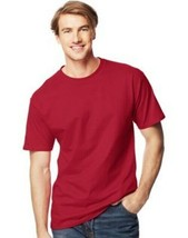 Hanes TALL Men's Beefy-T Short Sleeve T-Shirt - 7 COLORS - Sizes LT to 4XLT - $14.24