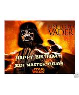 Star Wars Darth Vader edible cake image frosting sheet party decoration - $7.80