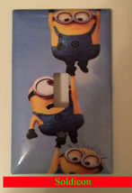 Minions One by One up Light Switch Power Outlet wall Cover Plate Home decor image 1