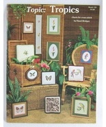 Topic: Tropics Cross Stitch Hazel Bridges - $5.00