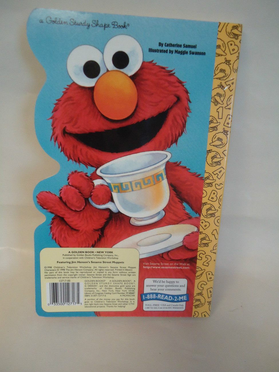 Elmo's Good Manners Game (Sesame Street) by Samuel, Catherine 1998 Hard Book