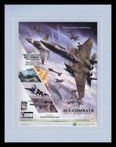 Ace Combat 6 2007 XBox Framed 11x14 ORIGINAL Vintage Advertisement - $32.36