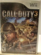 Call of Duty 3 Nintendo Wii  2006 - $6.90
