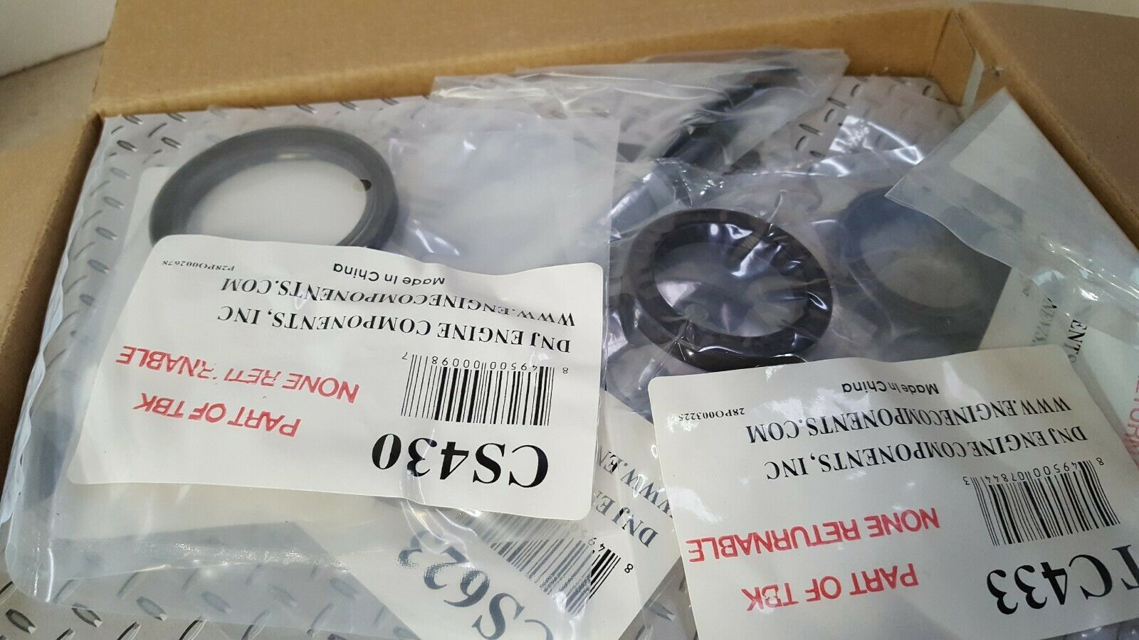 DNJ TBK490WP Timing Belt Kit With Water Pump image 3