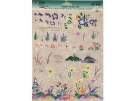 Plaid FolkArt Donna Dewberry Reusable Teaching Guide Wild Flowers #1135