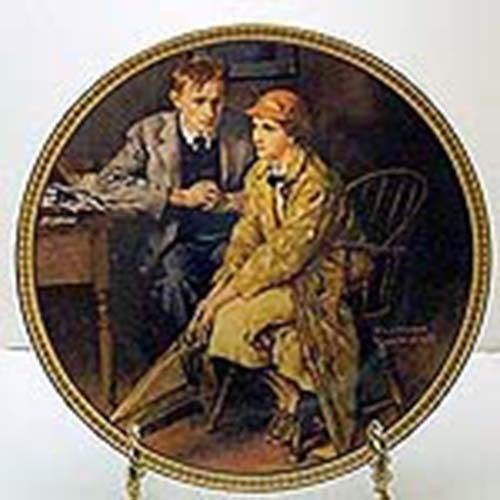 Primary image for Rediscovered Women Series by Knowles Norman Rockwell Collector Plates with Certs