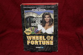 Wheel Of Fortune Sega Genesis Complete CIB Gametek Vintage Retro - $16.44