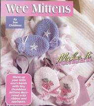 Preemie Caps & Wee Mittens Crochet Pattern~RARE~HTF - $14.99