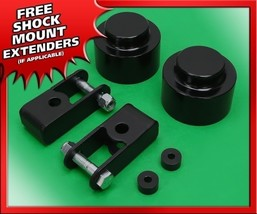 "For 07-19 Chevy Suburban 4x4 4x2 6-Lug 3"" Rear Lift Blk Billet Kit w/ Ex... - $86.40"