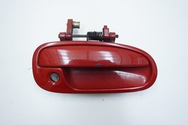 1996 - 2000 Honda Civic Coupe Passenger Side Outer Door Handle (Red) - $34.99