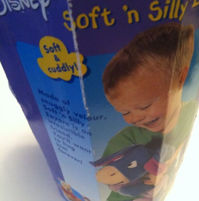 Disney Brand New in Box Eeyore SOFT 'n SILLY  by Fisher Price Collectible