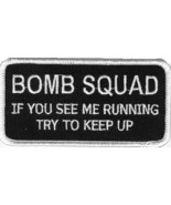 Embroidered Patch Bomb Squad Patch - $3.95