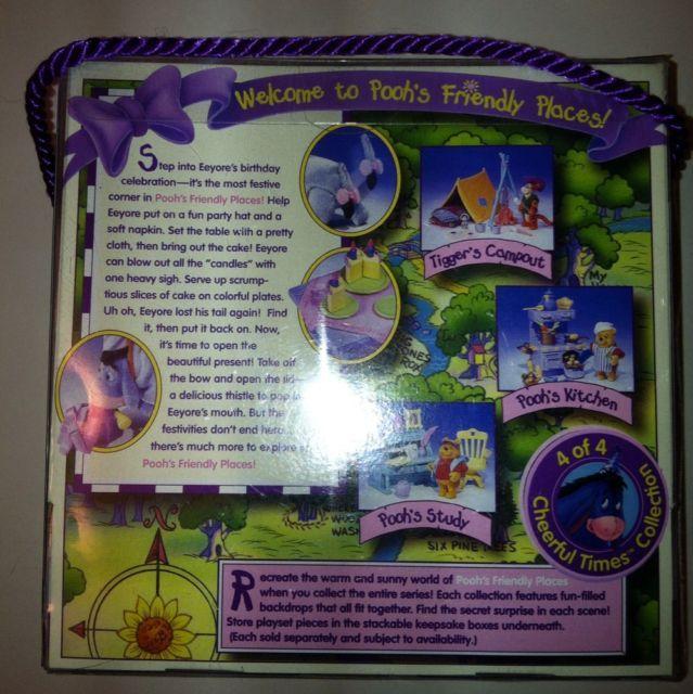 Eeyores Birthday Cheerful Times Collection NIB Mattel 1998