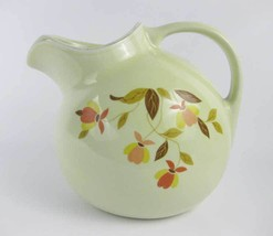 Vintage Hall Pottery Autumn Leaf Ball Jug Pitcher with Ice Lip - $19.00