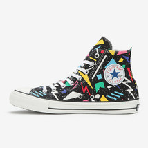CONVERSE ALL STAR 100 GEOMETRIC HI Black Chuck Taylor Limited Japan Excl... - $170.00