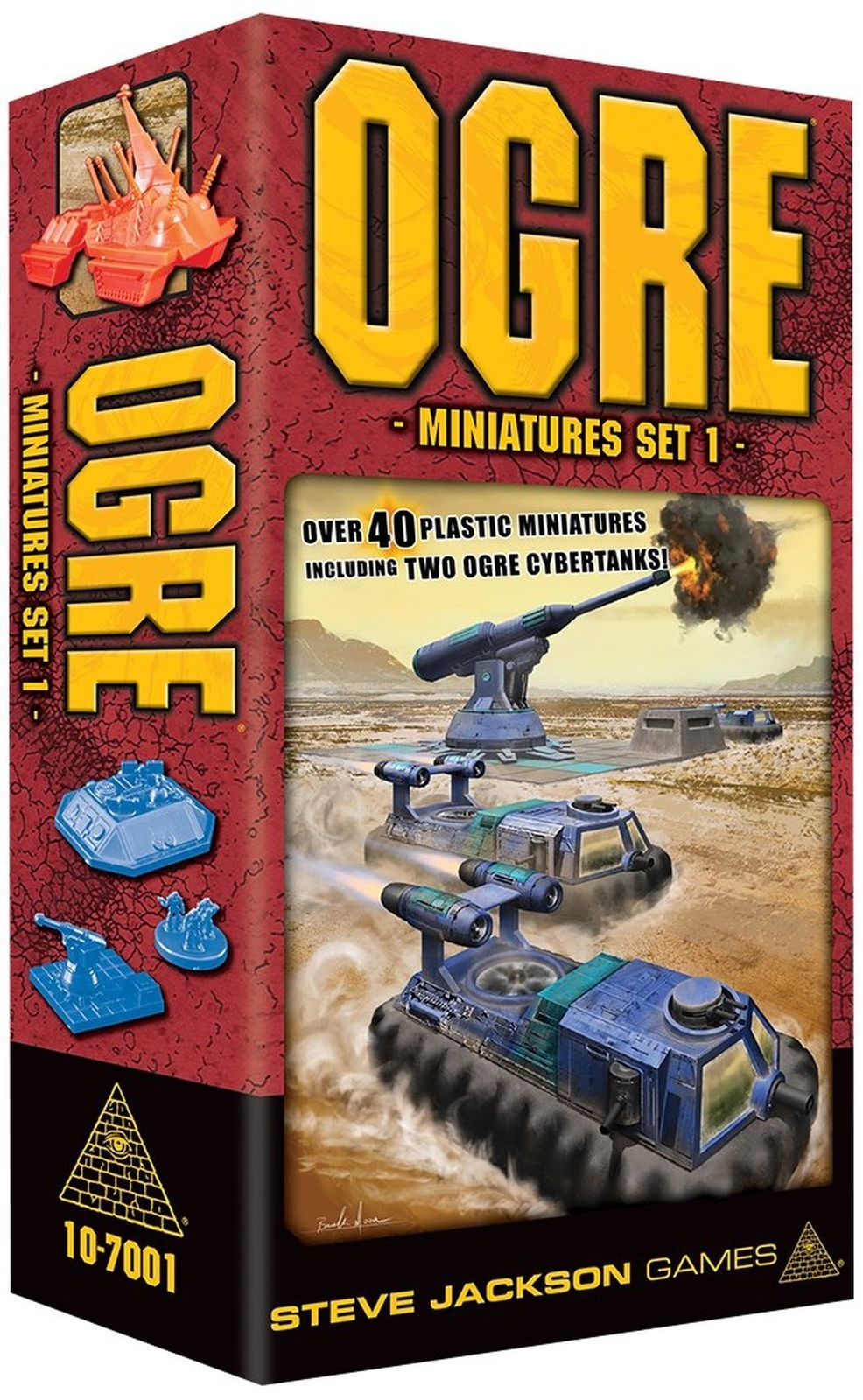 Steve Jackson Games Ogre Miniatures Set 1 [New] Board Game