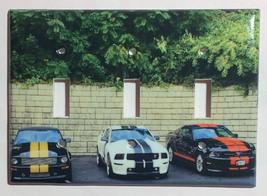 Ford Mustang Sport Car Light Switch Power Outlet Wall Cover Plate Home decor image 5