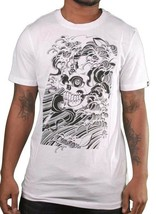 Etnies Mens White Dokuro Japan Tsunami Toshikazu Nozaka T-Shirt NWT