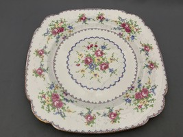 "Royal Albert Petit Point 9,5/8"" Square Dinner Plate. - $24.00"