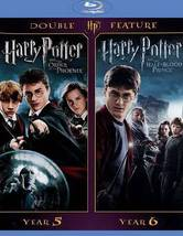 Harry Potter and the Order of Phoenix / Half Blood Prince (Blu-ray)