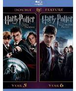 Harry Potter and the Order of Phoenix / Half Blood Prince (Blu-ray) - $4.95