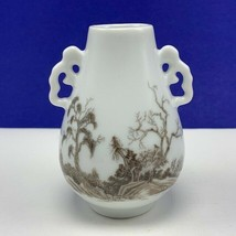 Franklin Mint vase treasues imperial dynasties miniature figurine Handles woods - $19.06