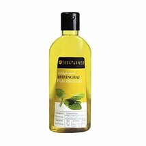 Soulflower Coldpressed Bhringraj Pure Herb Oil, 100% Pure and Natural Hairfall C