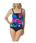 2 Bamboo Ladies' Swimsuit, FLORAL, M(8/10) - $10.88