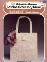 Fashion Accessory Ideas Tote Belt Plastic Canvas PATTERN/INSTRUCTIONS Bo... - $3.12