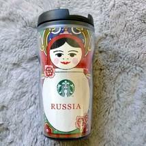 Russia Limited Edition Starbucks Russia Tumbler Matryoshka 355ml - $53.51