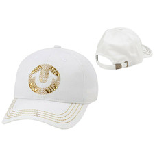 True Religion Men's Metallic Embossed Rubber Logo Cap Sport Strapback Hat TR2566