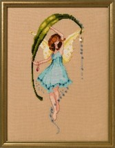 """DEW DROPS NC265"" NORA CORBETT XSTITCH CHART AND EMBELLISHMENT PACK - $29.69"