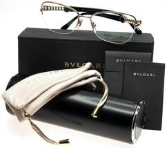 New Bvlgari 2182 376 Pink Gold Eyeglasses Glasses 55-17-140 B39mm Italy w/ Case - $197.99
