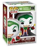 NEW SEALED 2020 Funko Pop Figure Santa Joker DC Comics - $23.19