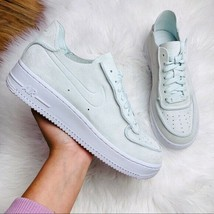 New In Box Nike Air Force One Decon Shoes In Ghost Aqua Size 10 - $108.90