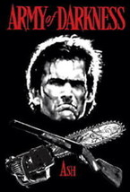 Army of Darkness Ash Shotgun & Saw Crossbones T-Shirt Size Large NEW UNWORN - $14.50