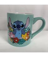 Disney Stitch Coffee Mug Weird But Cute Aqua 14 Oz  - $21.73