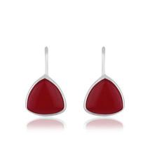 Pink Chalcedony Gemstone 925 Sterling Silver Fashion Drop Earring Jewelry - $17.82