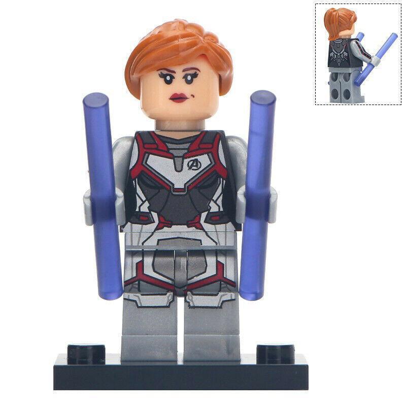 Black Widow (Quantum Realm suit) Marvel Avengers Endgame Lego Minifigures Toy