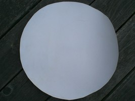 """WHITE unmounted Calf or Goat Skin Banjo Head in 18"""" and 20"""" sizes! - $16.34"""