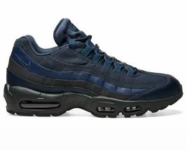 Nike Air Max 95 Essential Men Shoe 749766-400 Dark Blue/Black Sneakers Size 10.5 - $168.29