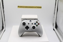 Xbox One/S/X 1708 Controller w/Soft Touch Silver Face Plate - $69.29