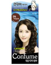 CONFUME SQUID INK NATURAL HAIR COLOR DYE - 5N NATURAL BROWN NO AMMONIA - $15.99